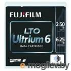 Ленточный накопитель Fujifilm Ultrium LTO6 RW 6,25TB (2,5Tb native) bar code labeled Cartridge (for libraries & autoloaders) (analog C7976A + Label)