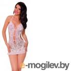 Ночная сорочка и трусы SoftLine Collection Ursula, белый, S/M