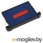 Аксессуары для печатей Штемпельная подушка Trodat 41х24mm для 4755 Blue-Red 6/4750/2