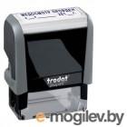 Штамп стандартный Trodat Медосмотр пройден 38х14mm Blue 4911P4-3.58 55409