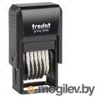 Нумератор Trodat 6-разрядный15х3,8mm 4836 Black 53199