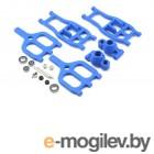 Рычаги и рулевое. True-Track Rear A-Arm Conversion, Blue:TMX 3.3/EMX. Радиоуправляемые модели