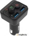 Автомобильный FM-модулятор Ritmix FMT-B100 черный MicroSD BT USB (80000554)