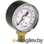 Манометр сантехнический RBM Радиальный 1/4 0-16 Bar d50