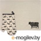 Набор кухонного текстиля Marmiton Bull 17315