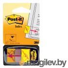 Закладки самокл. ярлыки пластиковые 3M 7000042770 25мм 1цв.в упак. 50лист поставьте вашу подпись