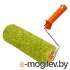 Валик полиакрил зеленый, ворс 18 мм, ширина ролика 240 мм, O 42 мм, бюгель 6 мм REXANT