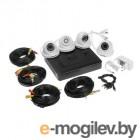 Комплект видеонаблюдения PROconnect, 4 внутренние камеры AHD-M, с HDD 1Tб