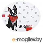 Аксессуары Коврик под миску Пушистое счастье Dog Food 35х28cm 4491963