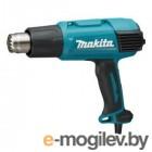 Термовоздуходувка MAKITA HG 6031 VK в чем. + набор сопл (1800 Вт, 2 скор., 50-600 °С, ступенч. рег.)