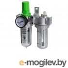 ECO AU-02-14 с регулятором давления и маслораспылителем (1/4, 1750л/мин)