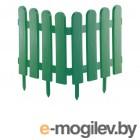 Забор декоративный Palisad Классика 29x224cm Green 65003