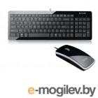 наборы клавиатура+мышь Delux K1500+M125 Ultra-Slim