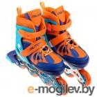 Роликовые коньки Onlitop Abec 7 р.L 38-41 Blue-Orange 4605225