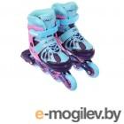 Роликовые коньки Onlitop Abec 7 р.M 34-37 Pink-Blue 5255979