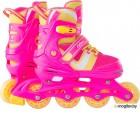 Роликовые коньки Ridex Wing р.L 38-41 Pink УТ-00018622