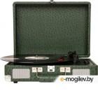 проигрыватели виниловых дисков Crosley Cruiser Deluxe Green Ostrich CR8005D-OS