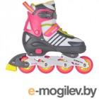 Роликовые коньки Tech Team Kargo р.39-42 Pink