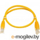 ������� ������������ Patchcord molded 5E Copper 0.5m Yellow