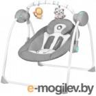 Качели для новорожденных Lionelo Ruben (серый/бирюзовый)