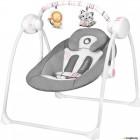 Качели для новорожденных Lionelo Ruben (розовый/серый)
