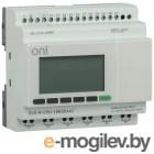 Контроллер программируемый логистический (микро ПЛК) PLR-M. CPU DI12/DO06 220В AC ONI PLR-M-CPU-18R00AAC