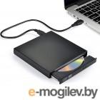 Привод внешний DVD+/-RW; USB 3.0; Gembird DVD-USB-04 <Black>