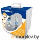 Автомобильные лампочки Tungsram H7 12V 55W PX26d Megalight Ultra +150 (2шт) 58520NXNU PB2