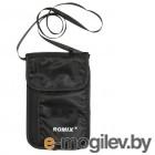 мужские портмоне / кошельки с чипами / визитницы Сумка-кошелёк Romix RH70 Black 30422