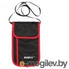 мужские портмоне / кошельки с чипами / визитницы Сумка-кошелёк Romix RH70 Red-Black 30422
