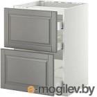 Шкаф-стол кухонный Кортекс-мебель Корнелия Ретро НШ30р без столешницы (венге/мадрид)