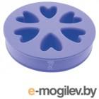 Поилки и миски Миска силиконовая 2-х сторонняя ZooOne Purple 21016
