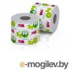 Бумага туалетная НОВИНКА 210 однослойная на втулке (1 рулон)