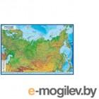 Настенная карта Геодом Физическая карта России / 8038