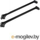 Багажник на рейлинги Modula Oval Bar / MOCSOB0AL008 (черный)