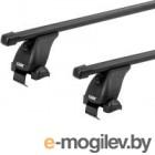 Багажник на рейлинги Modula Oval Bar / MOCSOB0AL0012 (черный)