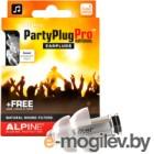 Беруши для музыкантов Alpine Hearing Protection PartyPlug Pro Natural / 111.21.600