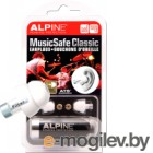 Беруши для музыкантов Alpine Hearing Protection MusicSafe Classic / 111.23.201