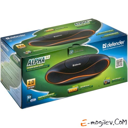 Defender 2.0 Alpha S4 4 Вт, FM, SD/USB, MP3