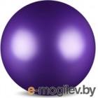 Мяч для художественной гимнастики No Brand Металлик AB2803 (фиолетовый)