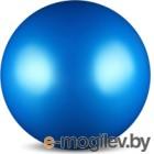 Мяч для художественной гимнастики No Brand Металлик AB2803 (синий)