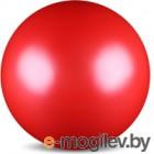 Мяч для художественной гимнастики No Brand Металлик AB2803 (красный)