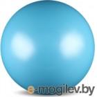 Мяч для художественной гимнастики No Brand Металлик AB2803 (голубой)
