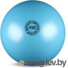 Мяч для художественной гимнастики No Brand Металлик AB2801 (голубой)