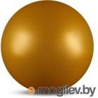 Мяч для художественной гимнастики No Brand Металлик AB2803B (желтый с блестками)
