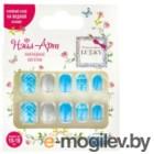 Накладные ногти Lukky Нэйл-Арт Blue Pattern / Т20806