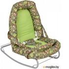 Качели для новорожденных Polini Kids Веселые животные (зеленый)