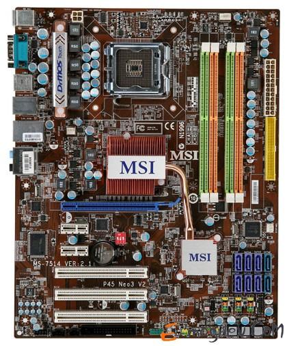 MSI P45 Neo3  V2 Уценка БУ