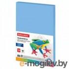 Бумага цветная Brauberg Бумага цветная A4 80g/m2 100 листов медиум Blue 112459