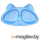 Миска для кошек Zooexpress Киска 2x200ml 28040